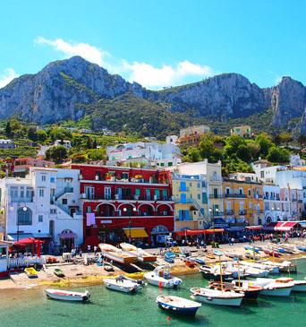 île de Capri en Italie