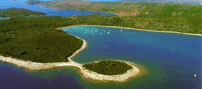Les kornati Location bateau base zadar
