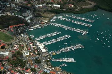 Marina Le Marin Martinique Base de Départ pour les Iles Grenadines