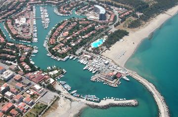 Marina Portorosa en Sicile base croisiere voile
