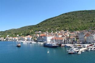 Vis en Croatie