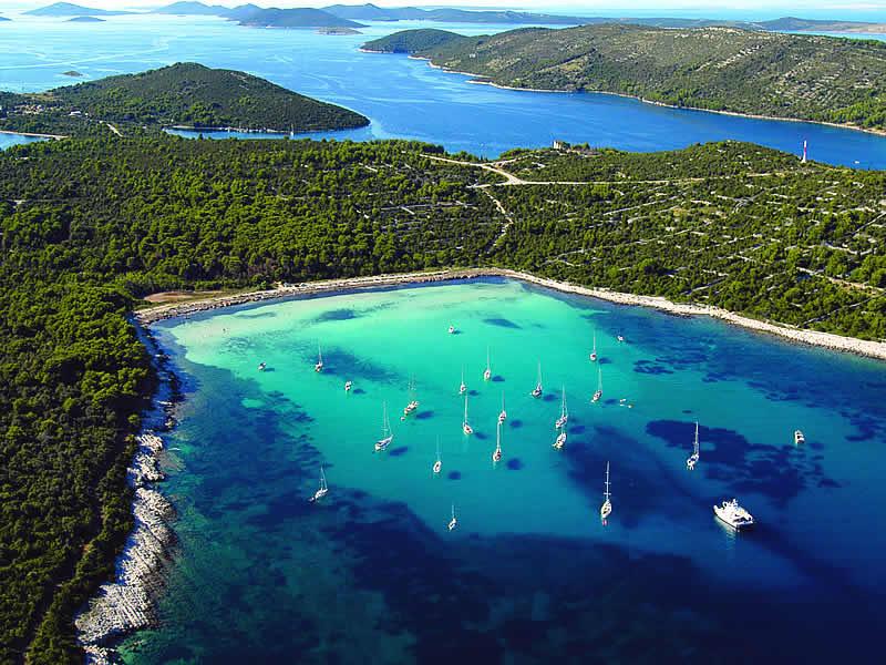 L'archipel des Kornati en voilier
