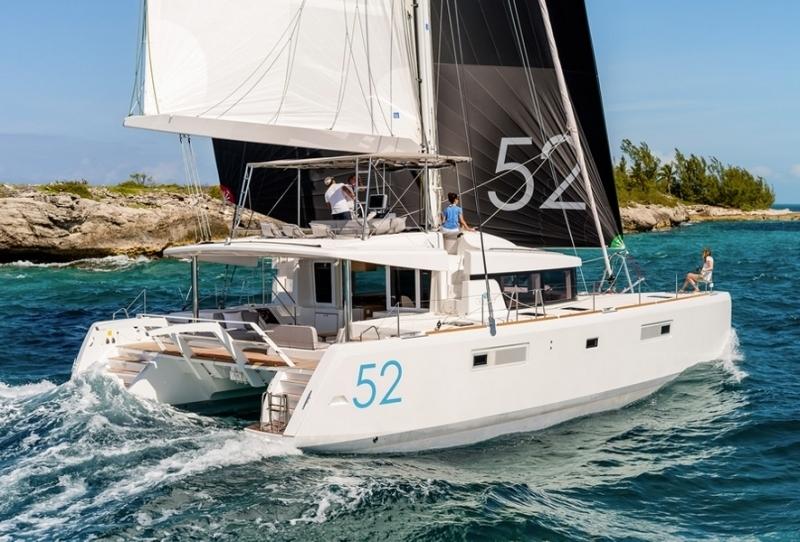 Croisi re dans les iles grenadines bord du lagoon 52 for Cuisinier bateau