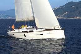 Voilier Hanse 445 dans la baie de Dubrovnik