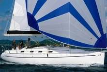 Voilier Harmony 38 sous voile