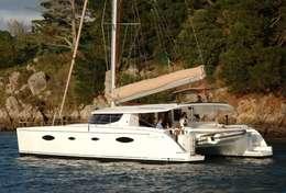 Catamaran Salina 48 en Bretagne sud