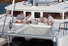 Croisière entre amis sur le catamaran Lagoon 450