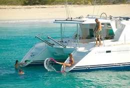 Snorkelling du catamaran Lagoon 440