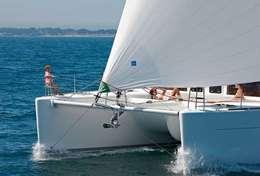 Avant du catamaran Lagoon 450