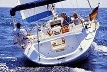 Navigation à trois sur un Bavaria 44 en Grèce
