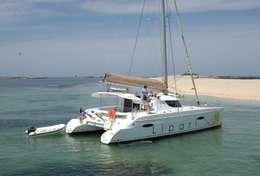 Mouillage en catamaran aux Iles Lavezzi