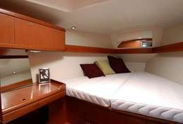 Confort d'un voilier de location