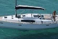 Voilier avec skipper sur l'Océanis 43