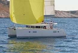 Catamaran Lagoon 400 S2 sous spi