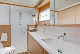 Cabinet de toilette du catamaran Lagoon 450