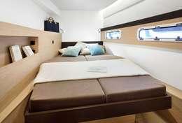 Grande cabine double du catamaran Bali 4.5