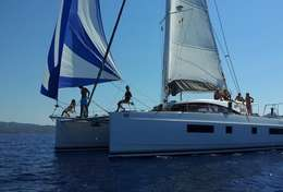 Catamaran luxueux à louer avec équipage