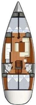 Voilier Sun Odyssey 44i - Guadeloupe