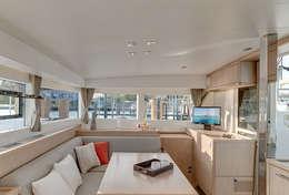 Catamaran confortable à la location
