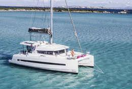 Catamaran Bali 4.1 en Grèce
