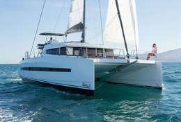 Traversée en catamaran vers les Iles Vierges
