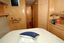 Cabine double sur le catamaran Eleuthera 60