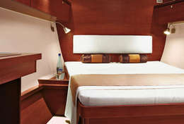 Grande cabine double Hanse 540e