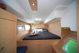 Cabine confortable du Lagoon 380