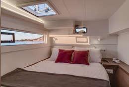 Cabine double catamaran Lagoon 40