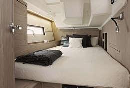 Lit double cabine arrière Océanis 46.1