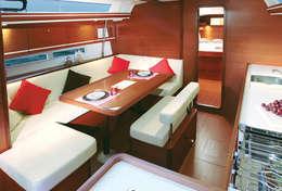 Carré confortable du Dufour 450
