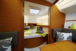 Cabine avant voilier Sun Odyssey 349