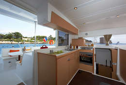 Cuisine du catamaran Lagoon 420