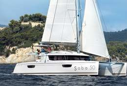 Découverte des îles Croates en catamaran Saba 50