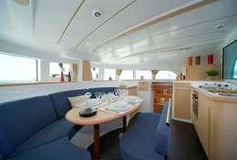 Salon catamaran Lagoon 380