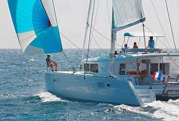 Croisière en catamaran à Saint-Martin