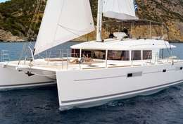 Lagoon 560 avec équipage en Croatie