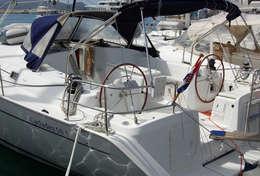 Voilier Cyclades 50.5 à la marina Dalmacija à Zadar