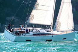 Dufour 390 en navigation familiale