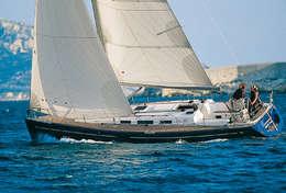 Dufour 40 sous voile en Corse
