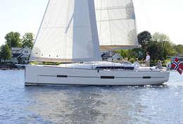 Navigation sous voile Dufour 412