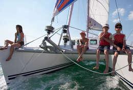 Croisière en famille en catamaran