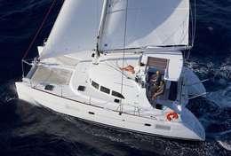 Cap vers Tintamarre à bord du Lagoon 380