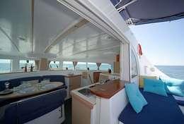 Espace privilégié à bord du lagoon 380S2