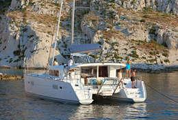 Vacances à bord du catamaran Lagoon 400