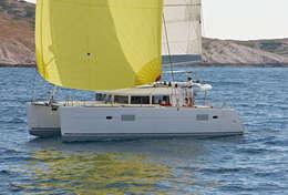 Navigation sous spi le long de la côte Dalmate