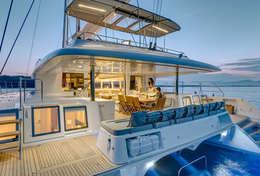 Croisière en catamaran de 18 mètres