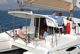 Catamaran Mahé 36 sur les flots