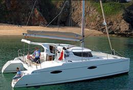 Le Mahé 36 est un catamaran de 10 mètres