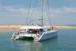 Croisière aux Iles Vierges en catamaran luxueux